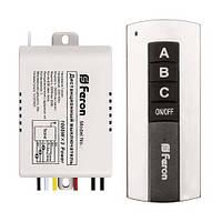 Дистанционный выключатель света 3 канала 220В Feron TM76
