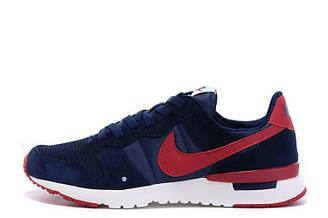 Мужские кроссовки Nike Archive'83 Navy Red|Мужские кроссовки найк синие оригинал
