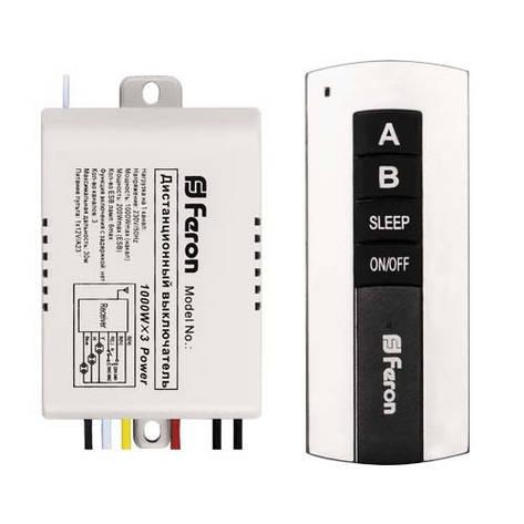 Дистанционный выключатель света 2 канала 220В Feron TM75, фото 2