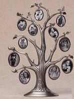 Рамка для фотографий дерево металлическое (31 см)