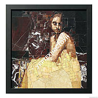 Мраморная мозаичная картина