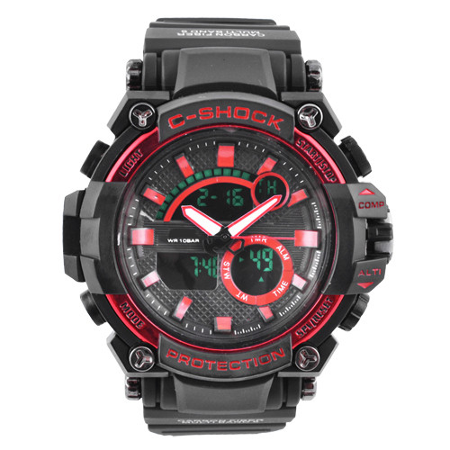 Часы наручные C-SHOCK GW-3500 Black-Red, BOX
