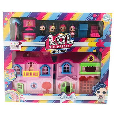 Набор L.O.L Surprise Unicorn Дом для куклы ЛОЛ