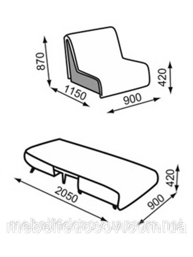 кресло-кровать фьюжин А купить
