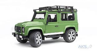 Игрушка Bruder Джип  Land Rover Defender (2590) Зеленый