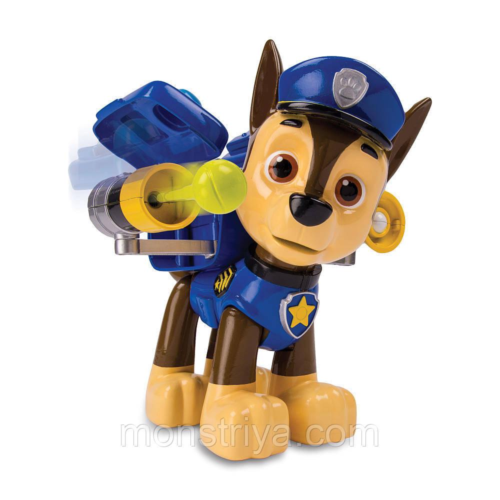 Spin Master Paw Patrol Щенячий патруль большая фигурка щенка Гонщика с механической функцией, Киев