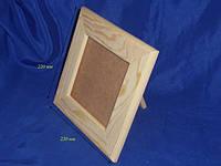 Заготовка деревянная «Рамка для зеркала» 220х220 мм сосна 21.082с Украина