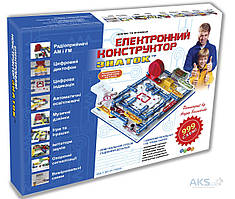 Конструктор Знаток Электронный конструктор (999 схем) (REW-K001)