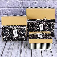 Подарочная коробка с декором  7701428-30,31,112 (3 шт набор)