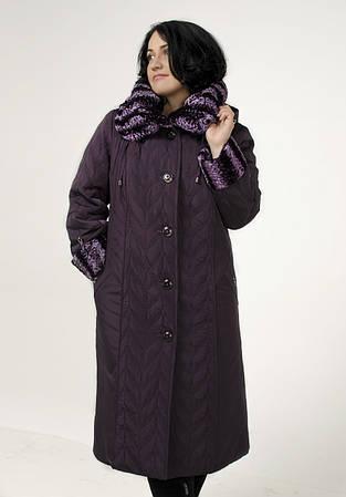 Зимнее женское пальто с утеплением для самого холодного периода года (синтепон + ватин)