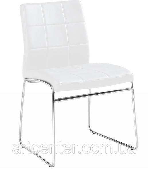 Стул для офиса, стул для посетителей, стул для кафе МАЙЯМИ (белый)