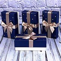 Подарочная коробка с декором  7701428-60-63 (4 шт набор)