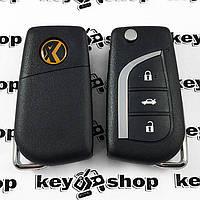 Универсальный автоключ для программатора XHorse, Toyota Style (XK008) 3 кнопки