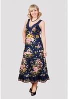 Сарафан женский с цветочным принтом