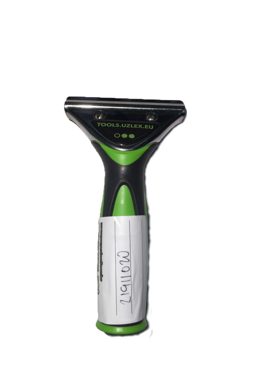 21911020 Держатель для полиуританового скребка - Handle for PU blades- Uzlex, green