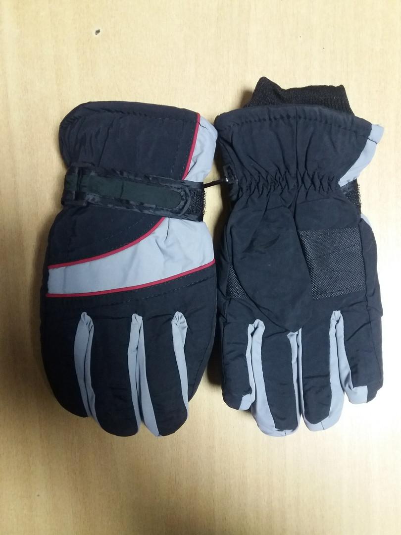 Детские  непромокаемые лыжные перчатки  3-6 лет