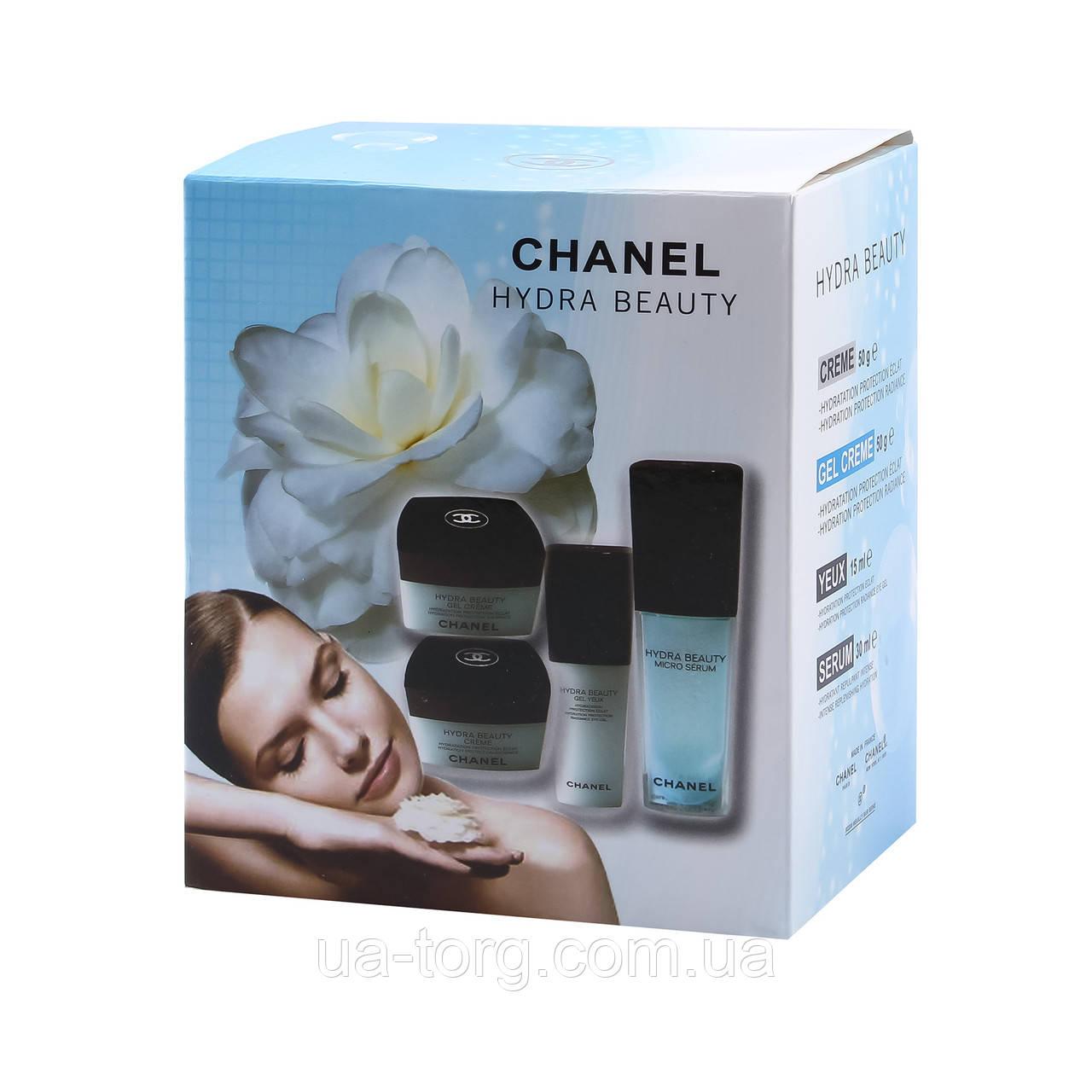 Набор кремов для лица Chanel Hydra Beauty 4 в 1 (упаковка поврежденна)