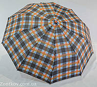 """Зонт полуавтомат """"Burberry"""" на 10 качественных спиц от фирмы """"SL"""""""