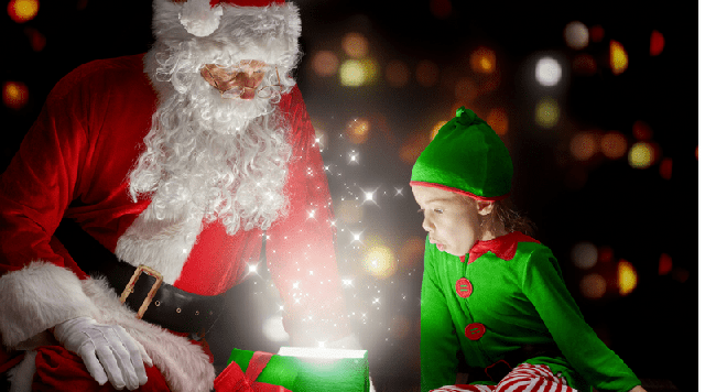 Санта Клаус и Эльфы премэра новой программы!