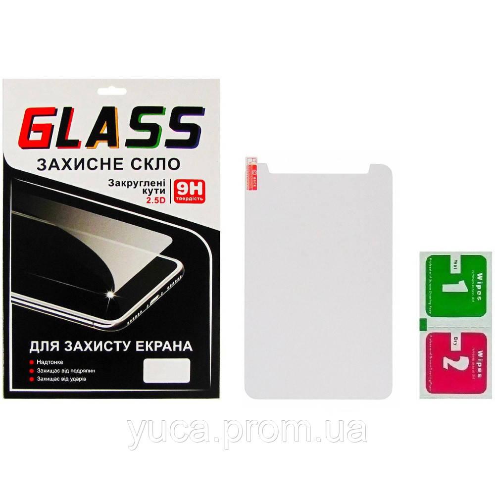 """Защитное стекло универсальное 7"""" (0.3x120x205 мм, 2.5D) с вырезом для динамика"""