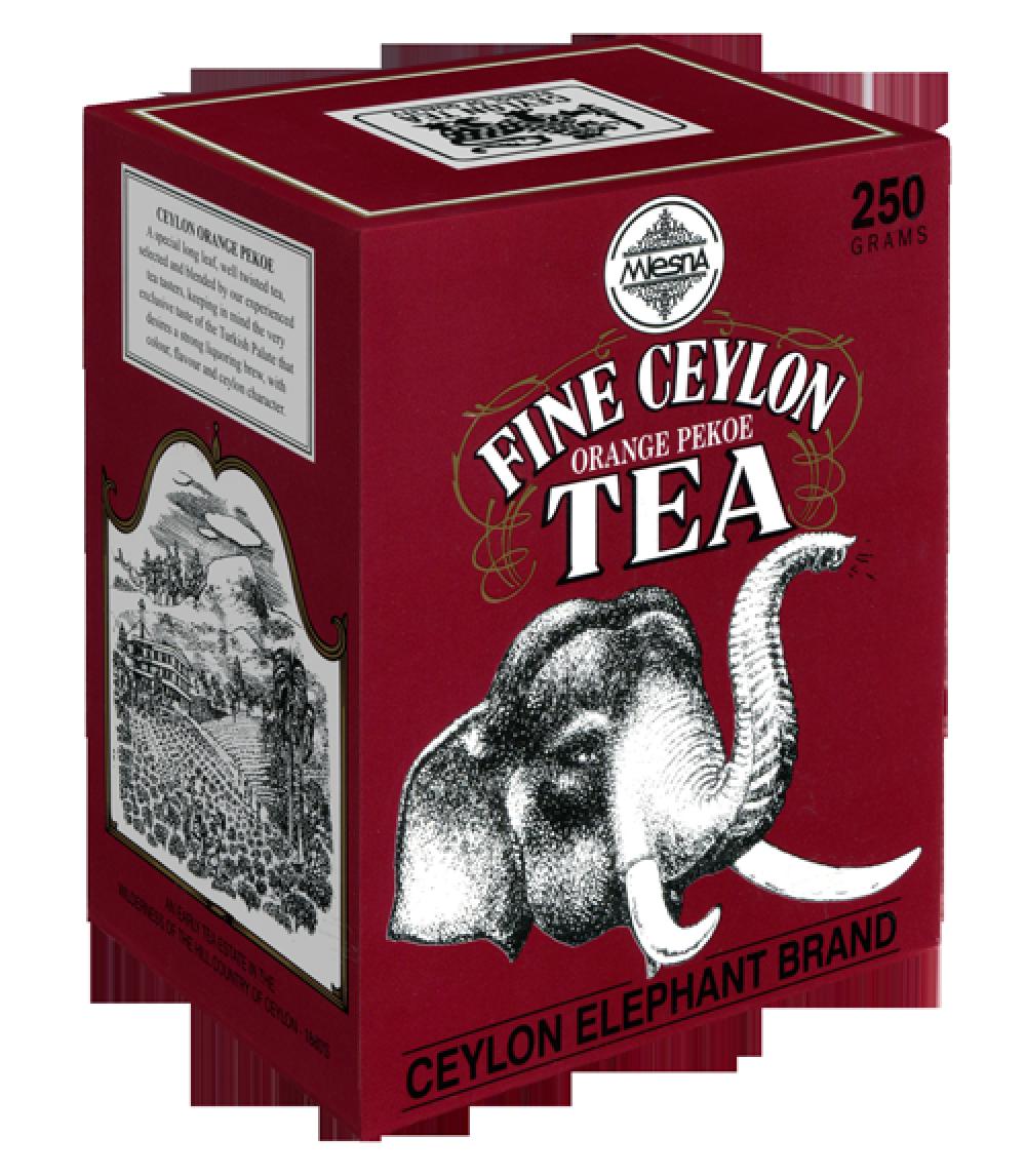 Черный чай Прекрасный Цейлон, FINE CEYLON, Млесна (Mlesna) 250г.