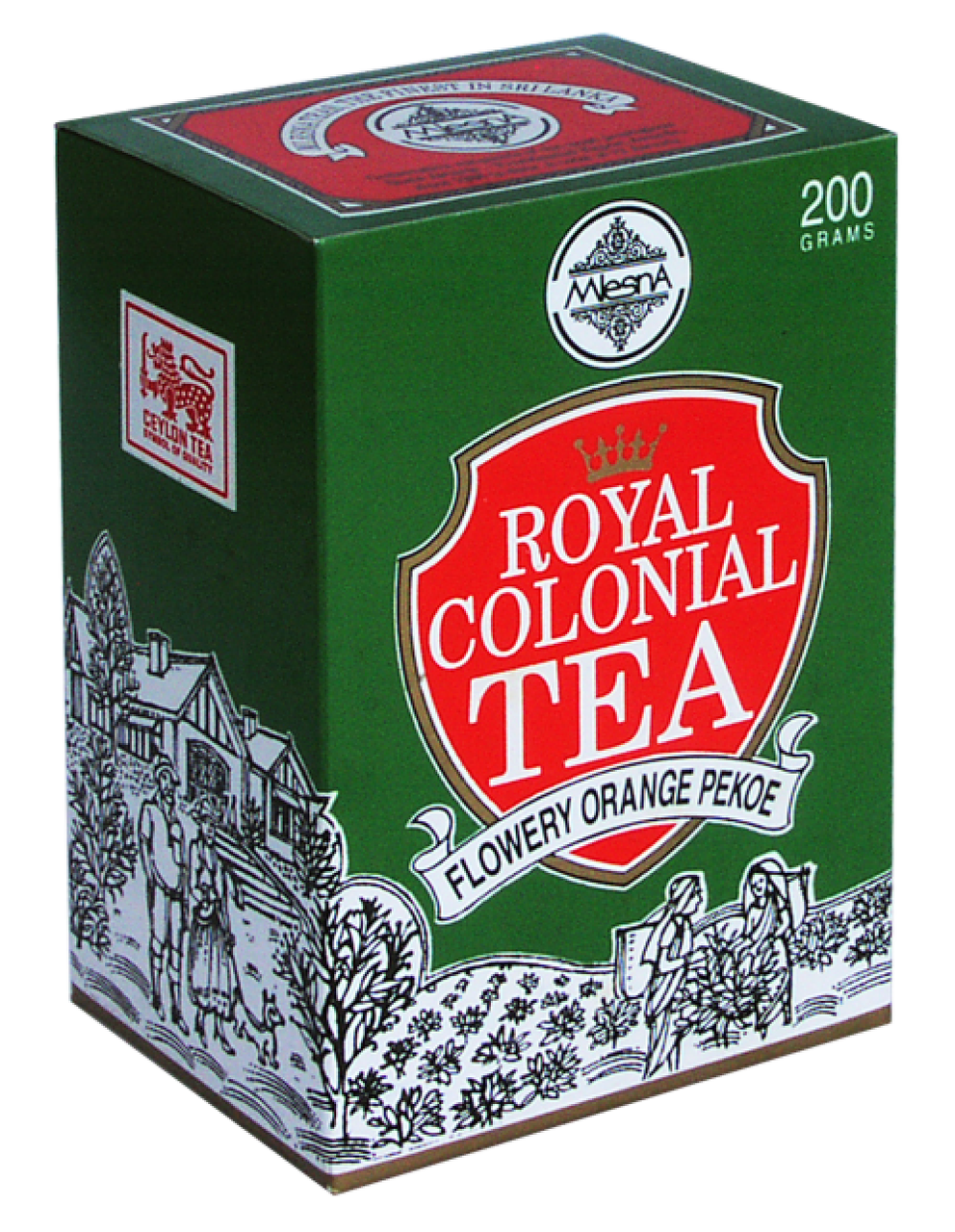 Черный чай Роял колониал, ROYAL COLONIAL, Млесна (Mlesna) 100г.