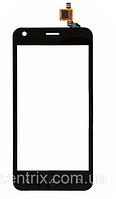 Тачскрин (сенсор) для Fly FS454 Nimbus 8, черный