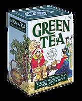 Зеленый крупнолистовой чай, GREEN TEA, Млесна (Mlesna) 100г.
