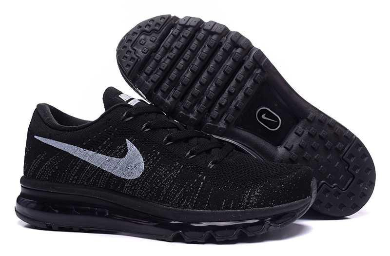 d5964692 Мужские кроссовки Nike Air Max Flyknit Black | найк аир макс черные -  Интернет магазин InHype