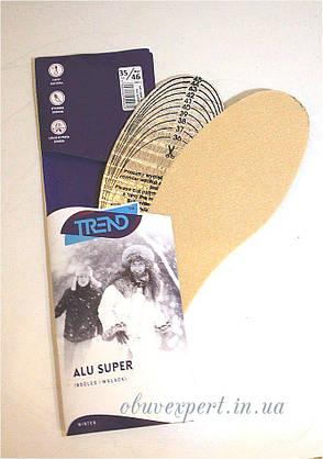 Зимові устілки для взуття Kaps Alu Super (для вирізання) р 35-46, фото 2