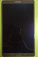 LCD Samsung T700 Galaxy Tab S 8.4 with touch screen and frame brown