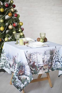 Скатерть новогодняя Зима