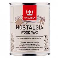 Nostalgia Tikkurila ( Носталгия Тиккурила) воск для мебели и стен 0,375 л.