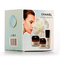 "Косметический набор кремов Chanel ""Chanel Hydra Beauty"" 3 в 1  (реплика)"