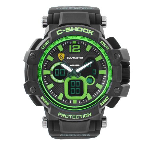 Часы наручные C-SHOCK GW-4500 Black-Green, BOX