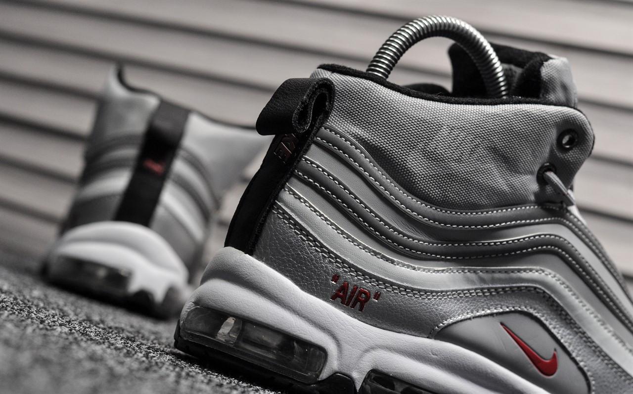 274af825 Зимние мужские кроссовки Nike Air Max 97 Silver Bullet , Реплика, ...