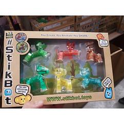 Набор Стикбот Питомцы Stikbot Pets Анимационная студия 6 фигурок