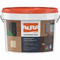Лазурь для деревянных фасадов Aura ColorWood Aqua, 9 л