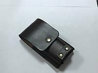 Чехол Hand Made, итальянская кожа, (13,5х4,5 см), фото 1