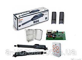 Комплект автоматики для распашных ворот Faac Genius Mistral Monson kit (створка до 3 м)