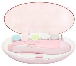 Набір для манікюру baby's Manicure Set (6 насадок) Рожевий