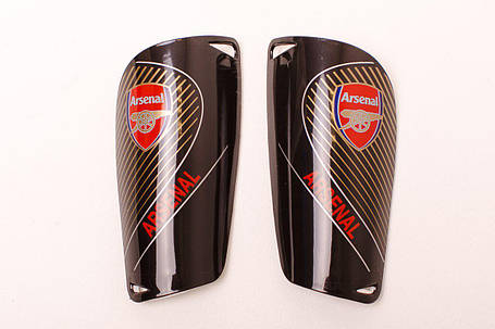 Щитки для футбола  Арсенал черные 1082, фото 2
