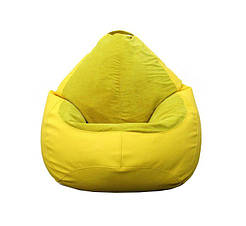 Кресло мешок PufOn, Гибрид XL, Желтый, Желтый