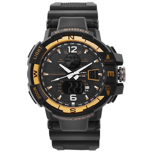 Годинники наручні C-SHOCK GWA-1100 Black-Gold, BOX