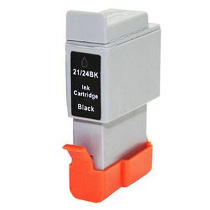 Чёрный картридж WOX для Canon BCI-24, BCI-21 (BCI-24B, BCI-21B) замена 6881A002)