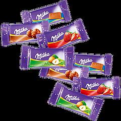 Шоколад порционный Milka NAPS mix (1блок/355шт)