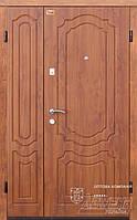 Дверь полуторная  Milena АП-4(V) 1200П (ЗД) Д - Престиж. Входная. МДФ панель/ПВХ пленка. Бронированная.