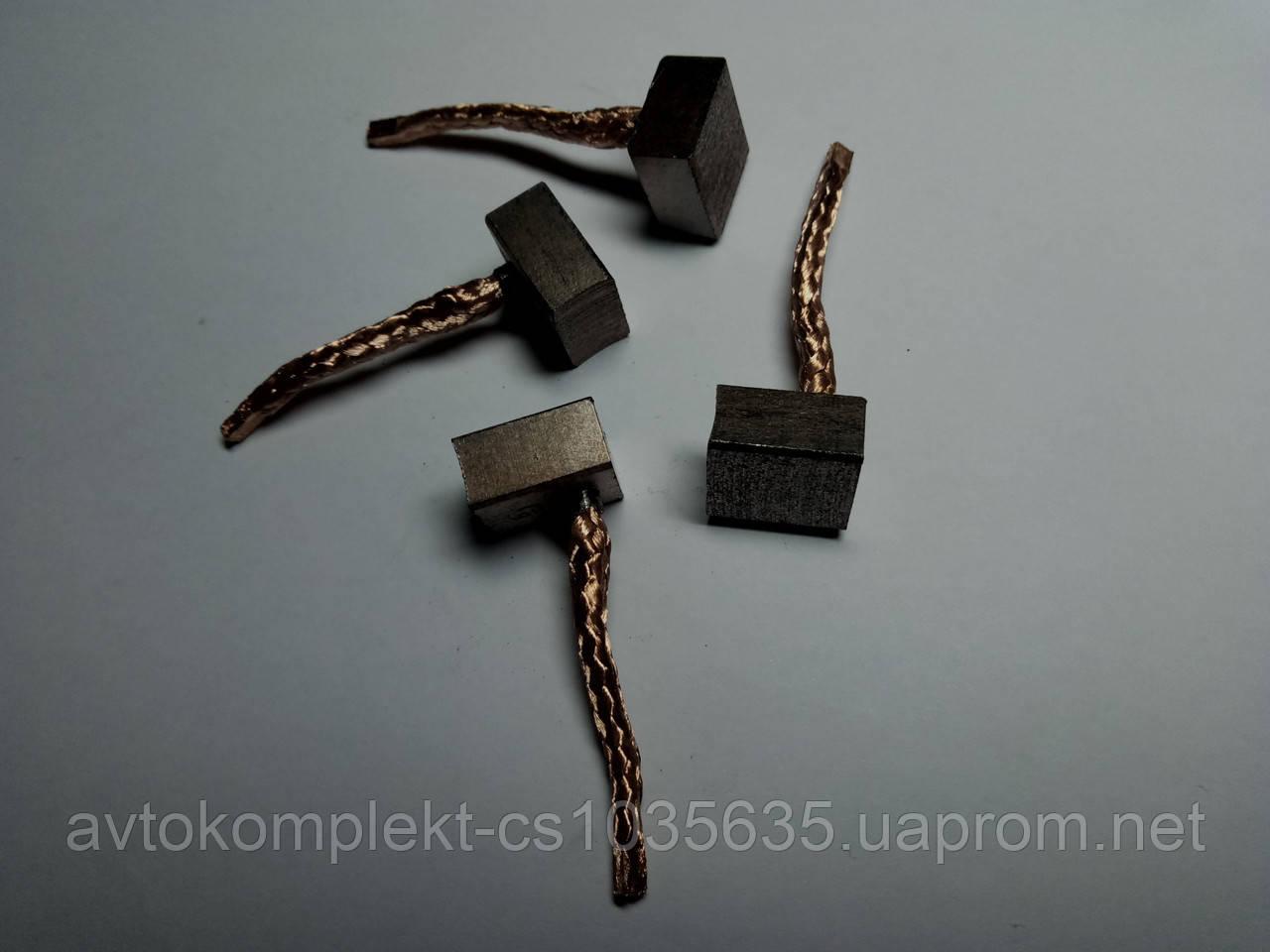 Щетка стартера AZJ-3385 (комплект 4 шт.) 12V