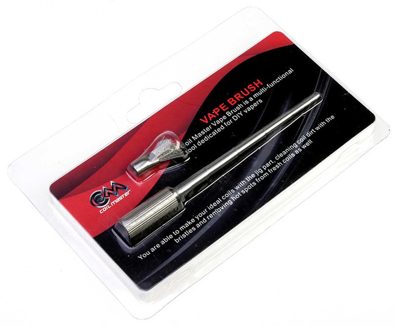 Coil Master Vape Brush - Инструмент для намотки и чистки спирали