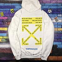 Худи Off-White Yellow • Топ бренд • Топ качество • Ориг бирки • Белая ce58cfa78cd